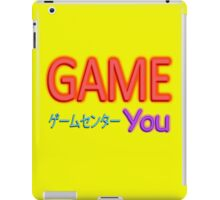 You Arcade iPad Case/Skin