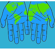 World in Our Hands Photographic Print