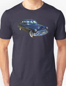 Black 1951 Buick Eight Antique Car T-Shirt