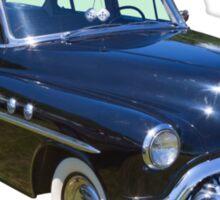 Black 1951 Buick Eight Antique Car Sticker