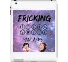 Delia Smith Pancakes!! iPad Case/Skin
