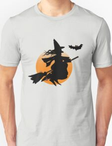 Halloween witch design T-Shirt