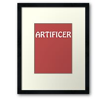 Artificer Framed Print