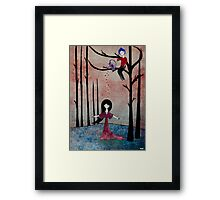 Filled with love Framed Print