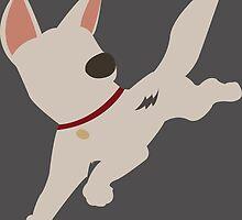 Bolt the super dog by spiritofdisney
