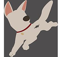 Bolt the super dog Photographic Print