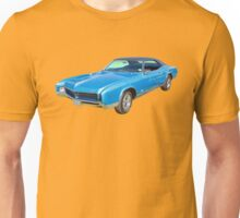 Blue 1967 Buick Riviera Muscle Car Unisex T-Shirt