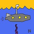 """A Submarine is Like an Underwater U.F.O. (to a Fish)"" by Richard F. Yates by richardfyates"