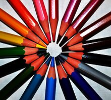 Matitando II ... the circle of pencil by contemod