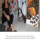 Inspirational artwork - canvas examples  by Sarah Russell
