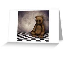 Stare Bear Greeting Card