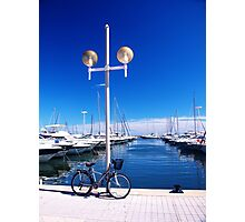 French Riviera blue Photographic Print