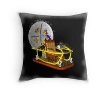 Time Machine by Pierre Blanchard Throw Pillow
