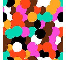 Big overlapping circles Photographic Print
