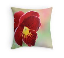 what a reddy bokeh Wednesday Throw Pillow