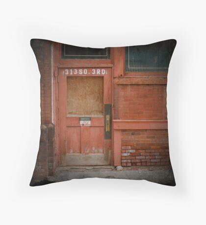 313 S 3rd Street Throw Pillow