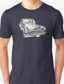 1953 Buick Special Antique Car Illustration T-Shirt