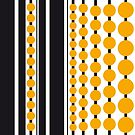 Black Stripes & Yellow Spots by Victoria Ellis