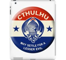 Vote Cthulhu iPad Case/Skin