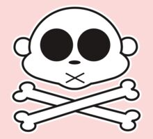 Monkey Cross Bone 2 Baby Tee