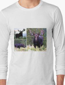Bull moose Long Sleeve T-Shirt