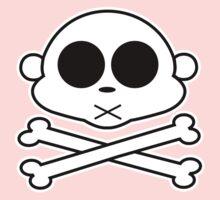 Monkey Cross Bone Baby Tee