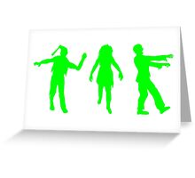 Zombies Greeting Card