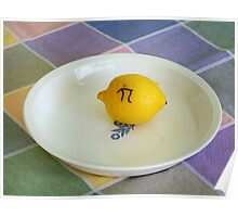 Lemon Pi Poster