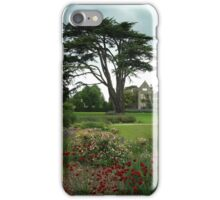 An English country garden in summer iPhone Case/Skin