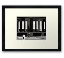 A touch of glamour in a industrial world Framed Print