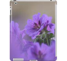 A meadow of cranesbill iPad Case/Skin