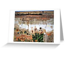 Pottery Wall  Greeting Card