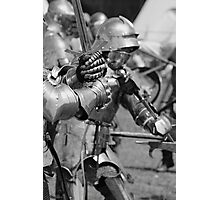 Melee in Monochrome Photographic Print