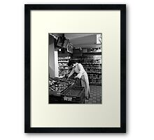 The credit crunch hits all of us! Framed Print
