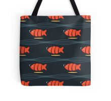 Swimming Sushi Tote Bag