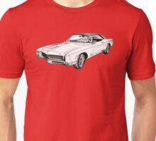 1967 Buick Riviera Illustration Unisex T-Shirt