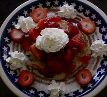 patriotic pancake by Michelle  Sogan