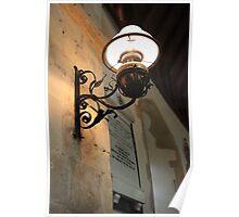 Chancel Lamp Poster