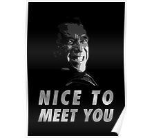 Terminator, Genisys - Nice to meet you Poster