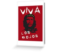 CHE GUEVARA - THE RED Greeting Card