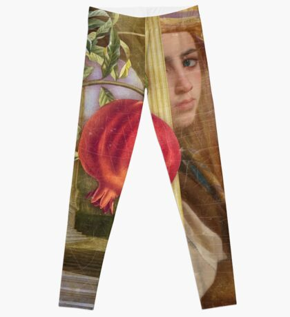 The Pomegranate Eater Leggings