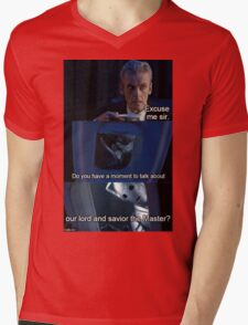 the master Mens V-Neck T-Shirt