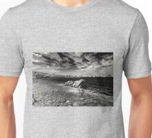 Chora Old Port B&W Unisex T-Shirt