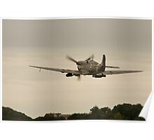 Spitfire takes off Poster