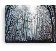 'Fog Descending' Canvas Print