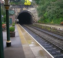 Knaresborough Station, North Yorkshire by Peter Telford