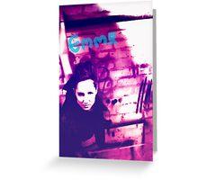 Emma grunge style Greeting Card