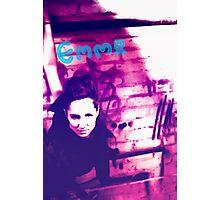 Emma grunge style Photographic Print