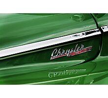 Green Chyrsler Windsor Photographic Print