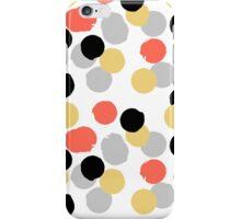 Polka dot print in multiple colors iPhone Case/Skin